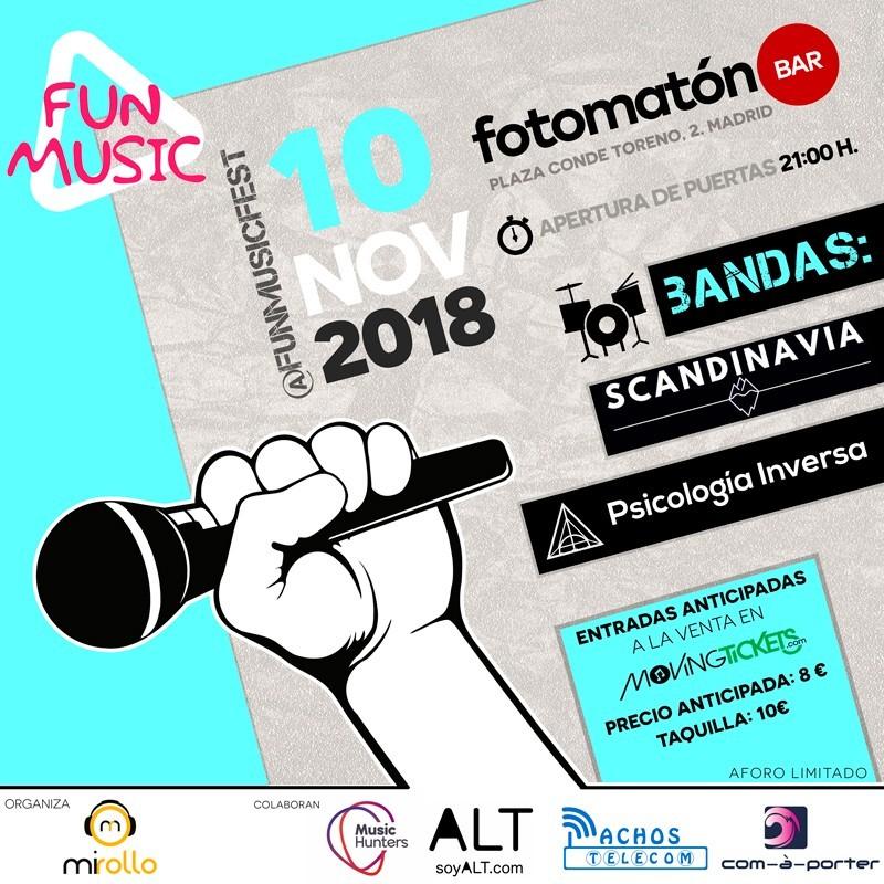 Cartelería de Fun Music Festival
