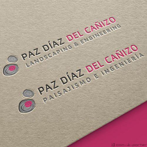 Logotipo de Paz Díaz del Cañizo Paisajismo e Ingeniería