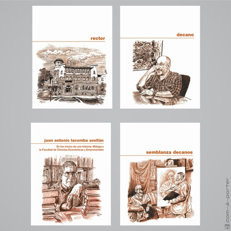 Maquetación de Libro Conmemorativo del 50 Aniversario de la Facultad de Ciencias Económicas y Empresariales