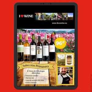 Newsletters Cuatro Estaciones (2018) de ILOVEWINE