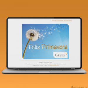 Newsletters Cuatro Estaciones (2018) de TALEN Cocktails & Show