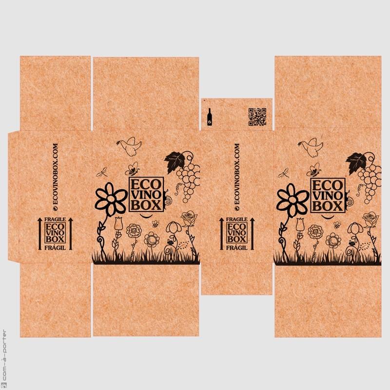 Packaging cajas de envío especiales de ECOVINOBOX