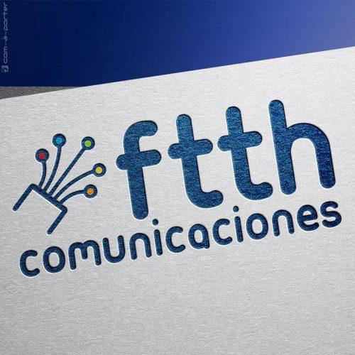 Logotipo de FTTH Telecomunicaciones