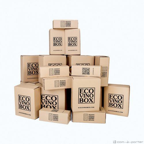 Packaging cajas de envío de ECOVINOBOX