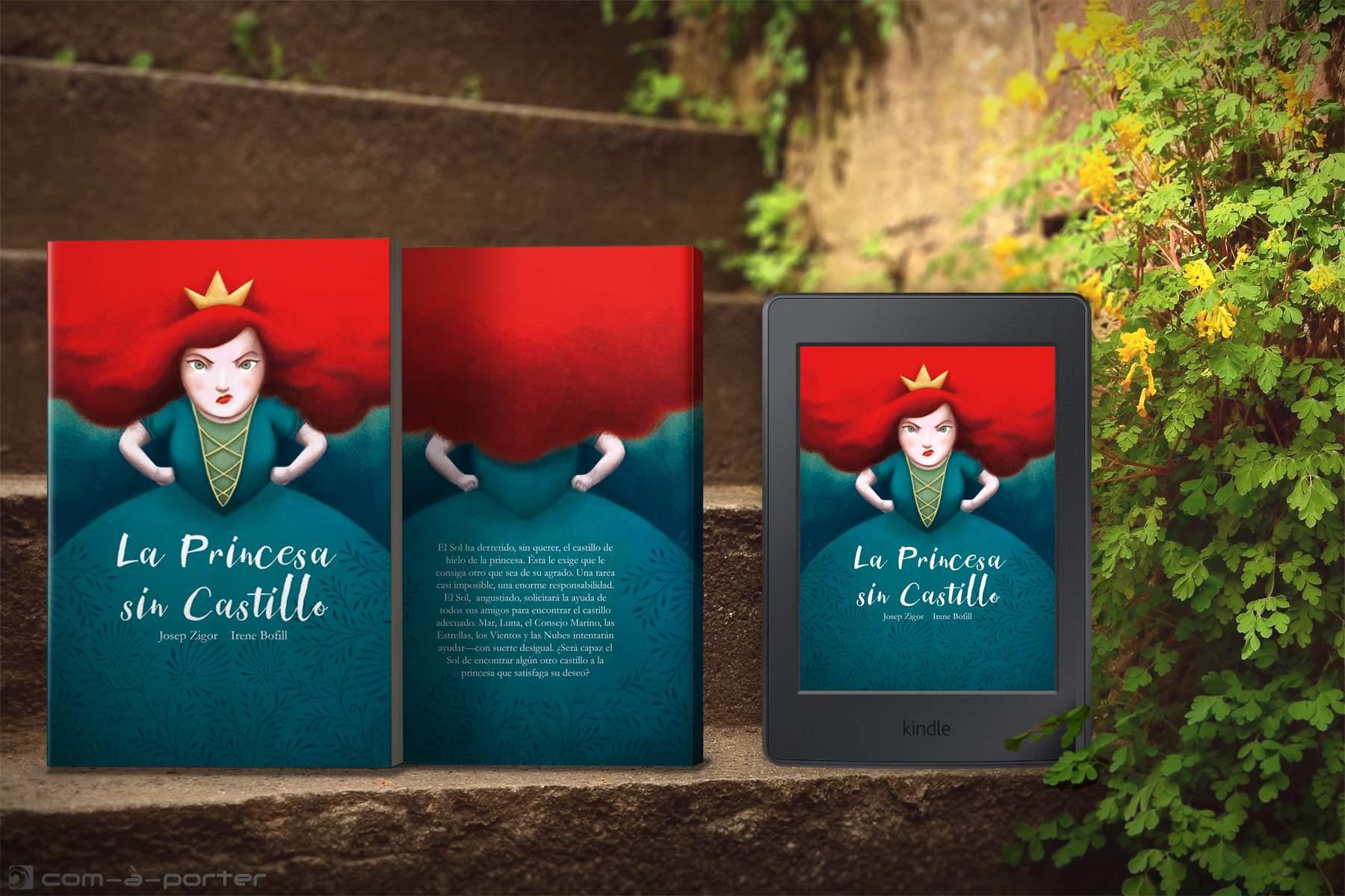 Maquetación de cuento infantil para CreateSpace (Amazon) y ebook para Kindle
