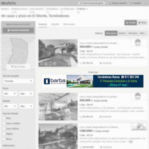 Megabanner de grupo inmobiliario en Madrid para portal inmobiliario www.idealista.com
