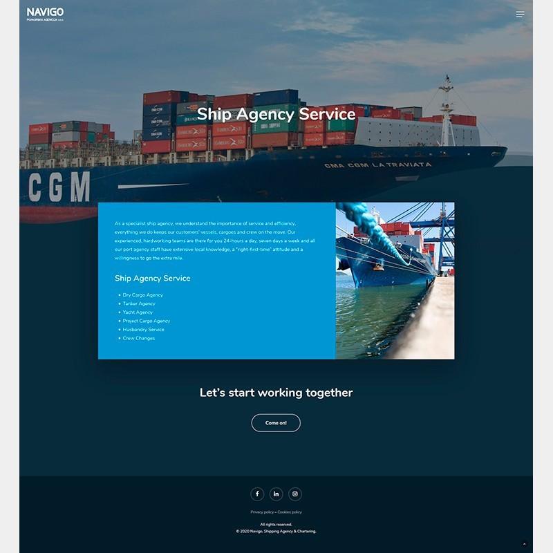 Página web Navigo