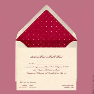 Invitaciones para Puesta de Largo en Madrid
