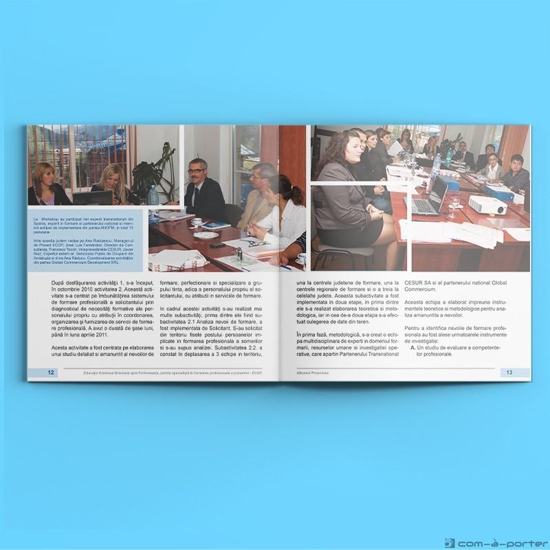 """Maquetación de catálogo para proyecto """"ECOP"""" en Rumanía"""