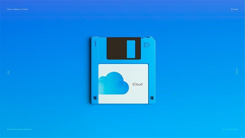 Ilustraciones nostálgicas de un tiempo pasado: iCloud