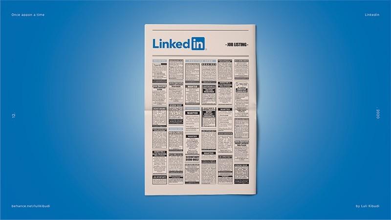 Ilustraciones nostálgicas de un tiempo pasado: Linkedin