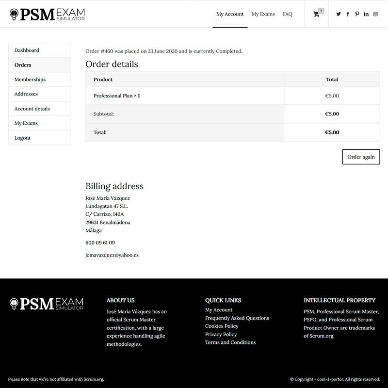 PSM Professional Scrum Master