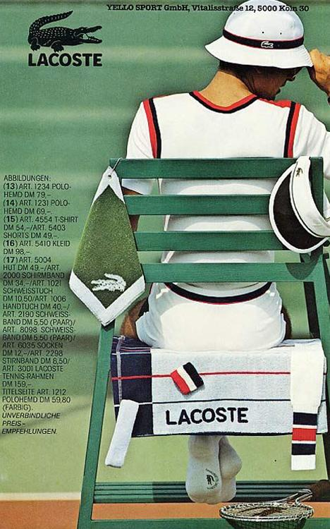 Lacoste, historia de una marca