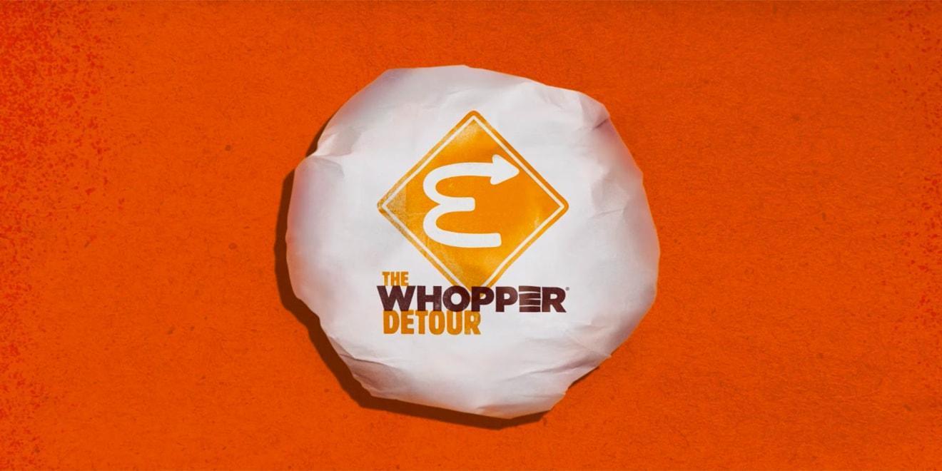 The Whopper Detour, ¿competencia agresiva?