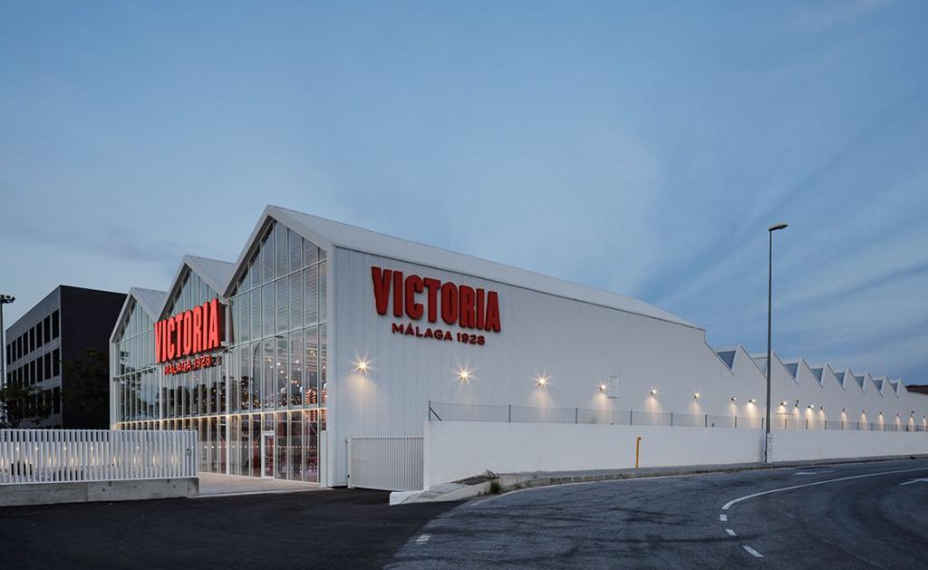 Fábrica nueva de cervezas Victoria