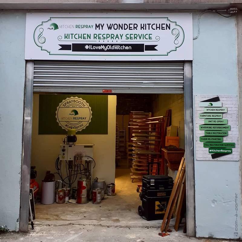 Decoración de las oficinas de My Wonder Kitchen en Dublín (Irlanda)