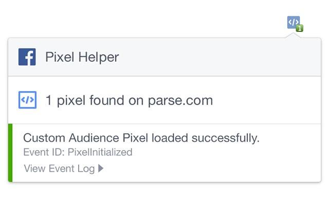 Descubre si tienes bien implementado el píxel de Facebook con esta extensión