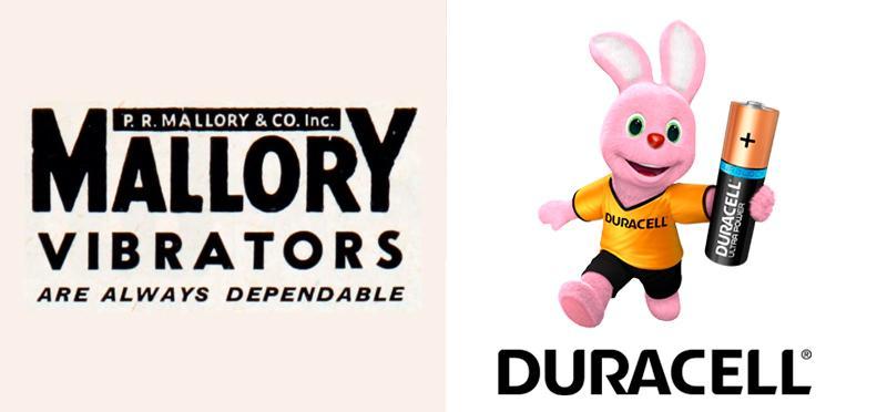 Mallory & Co y Duracell es la misma marca
