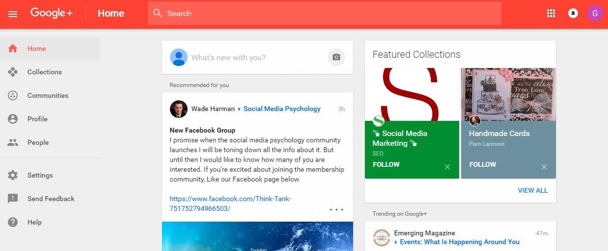Google Plus es (era) la red social de Google