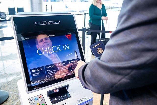 En aeropuertos y terminales aéreos es perfecto para el checkin