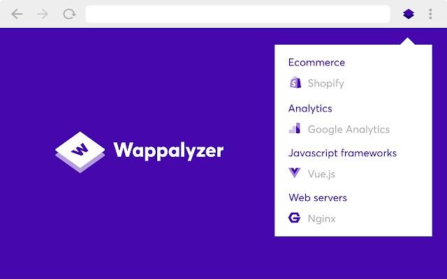 Averigua la tecnología detrás de una web con Wappalyzer