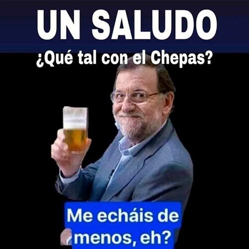 Mariano Rajoy echa de menos a Cheppa Pig