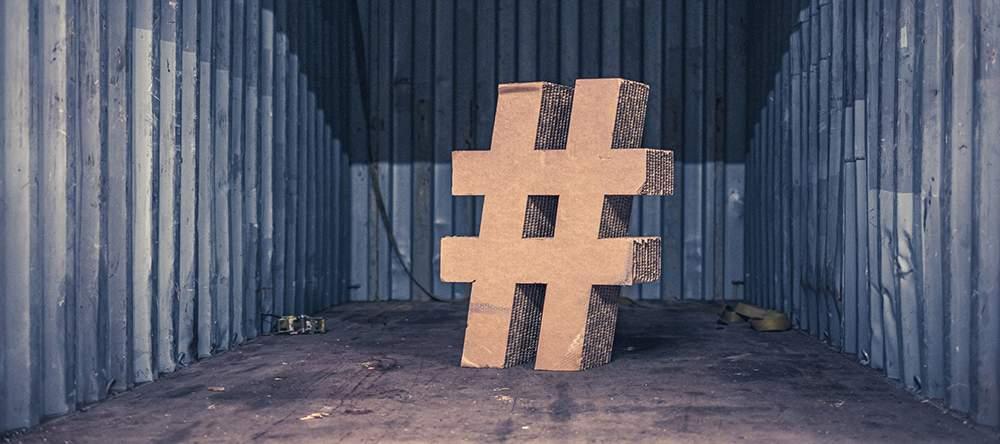 El origen del hashtag o la almohadilla es reciente