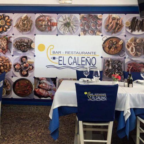 Vinilo decorativo para Restaurante El Caleño