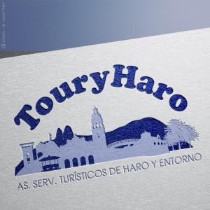 Logotipo de TouryHaro, Asociación Servicios Turísticos de Haro y Entorno