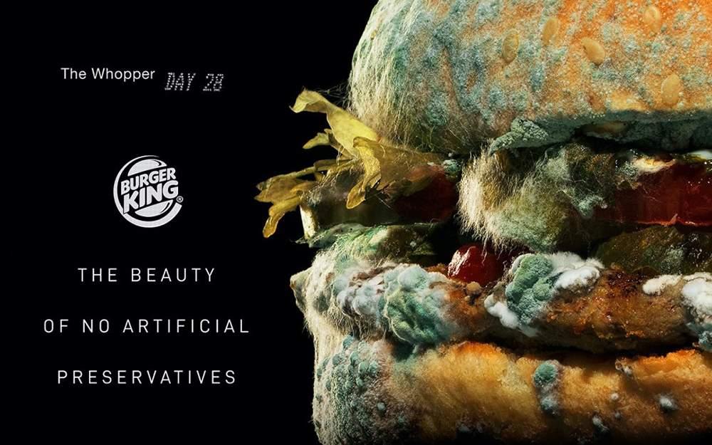 Una imagen vale más que mil palabras: anuncio Burger King