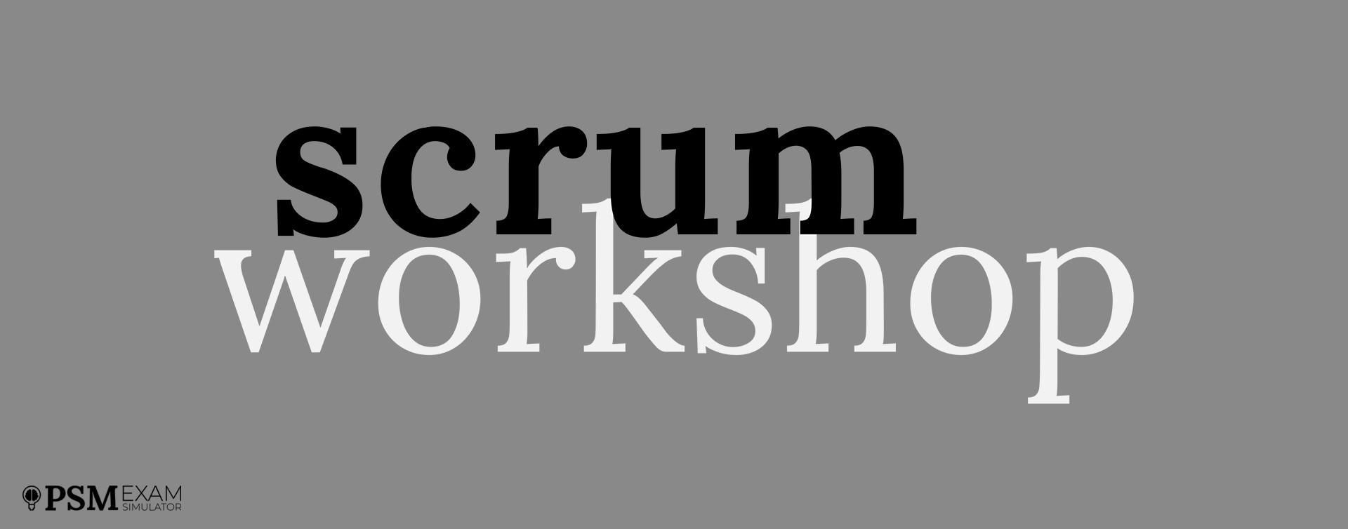 Scrum Workshop PowerPoint, gratis para ti