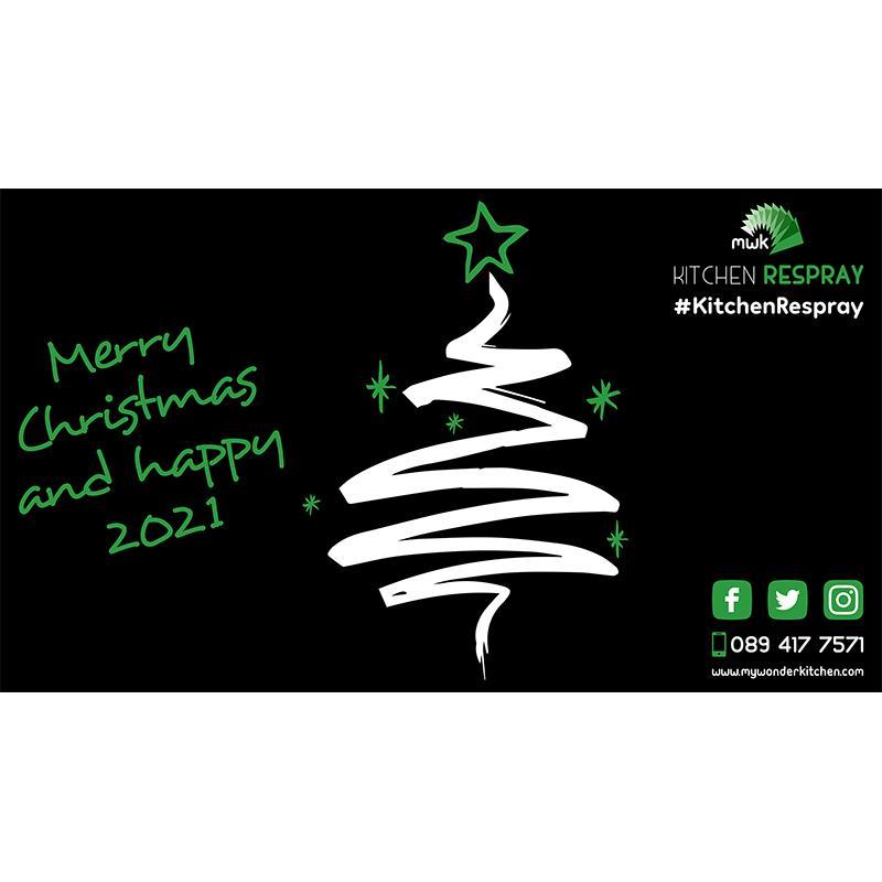 Diseño de Felicitación de Navidad para las Redes Sociales de My Wonder Kitchen (Irlanda, Dublín)