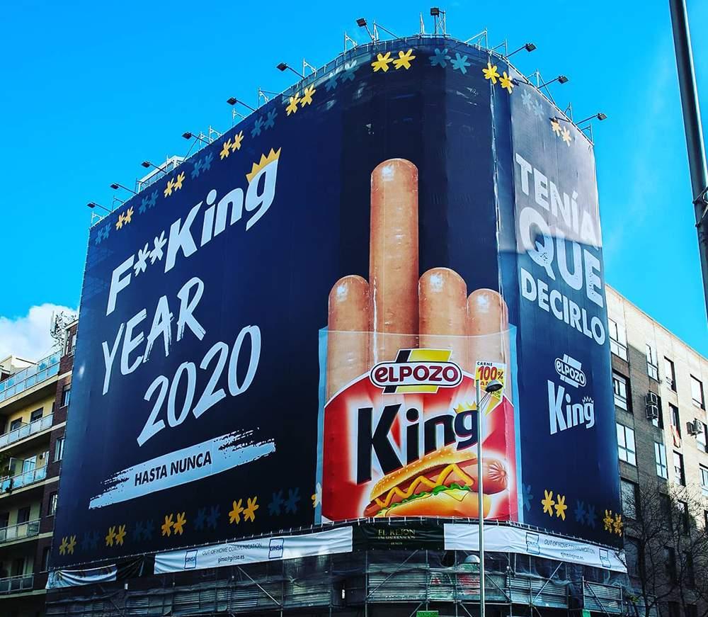 Jodido fucking year 2020, de El Pozo