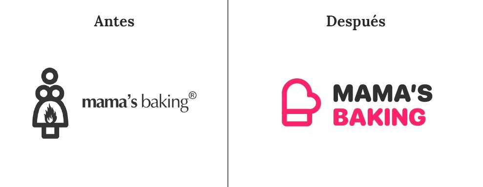 La cocina de Mamá Baking es uno de los logotipos confusos