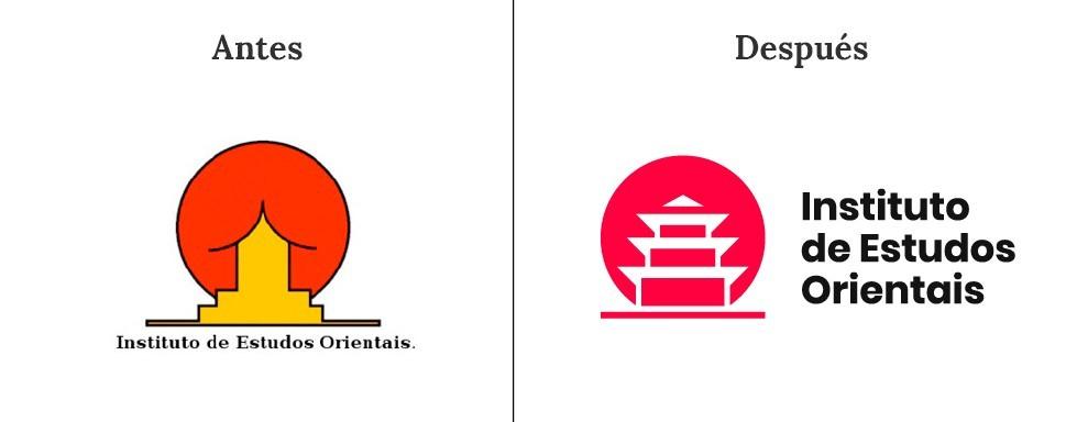 Logotipo confuso del Instituto de Estudios Orientales