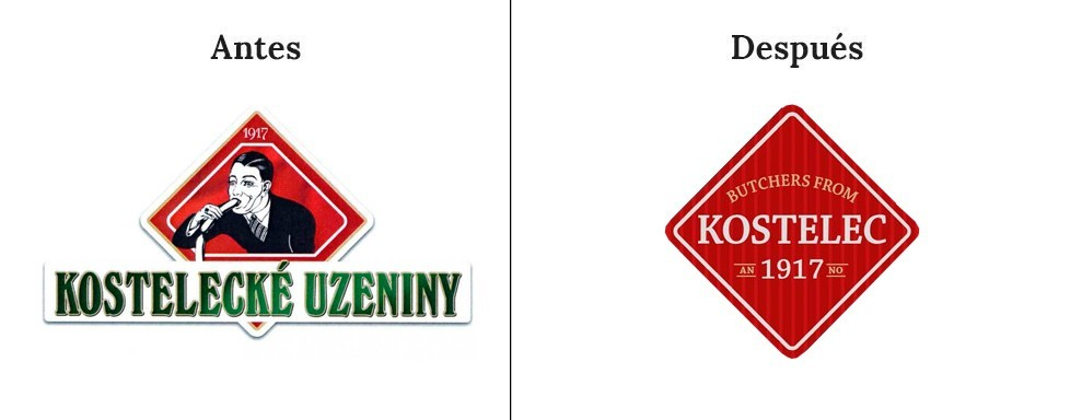 Logotipo de Kostelecke Uzeniny Sausages