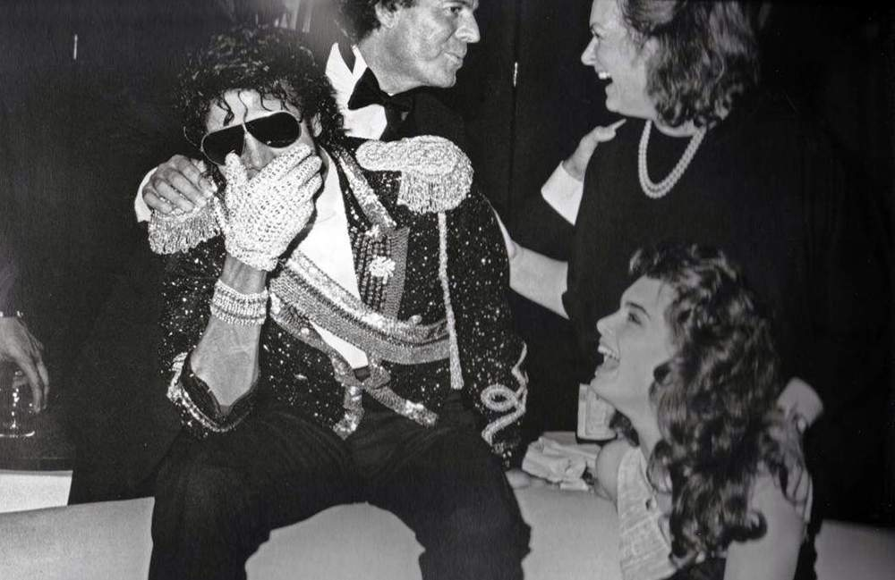 De Julio Iglesias contra Michael Jackson nada, eran amigos