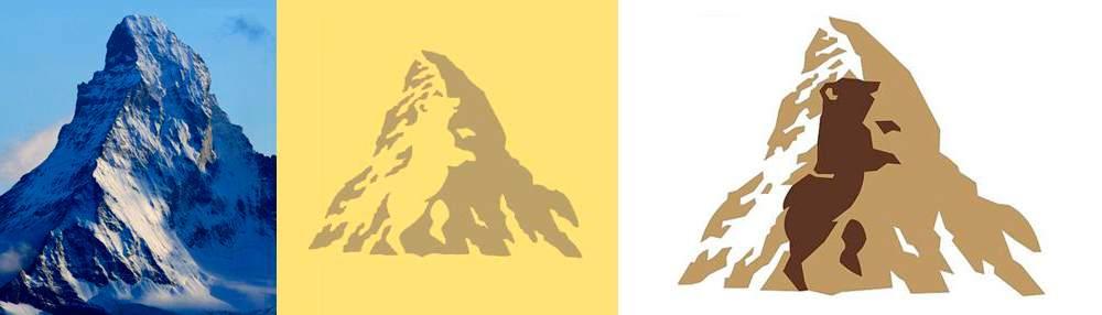 El logo de Toblerone esconde un oso en su interior