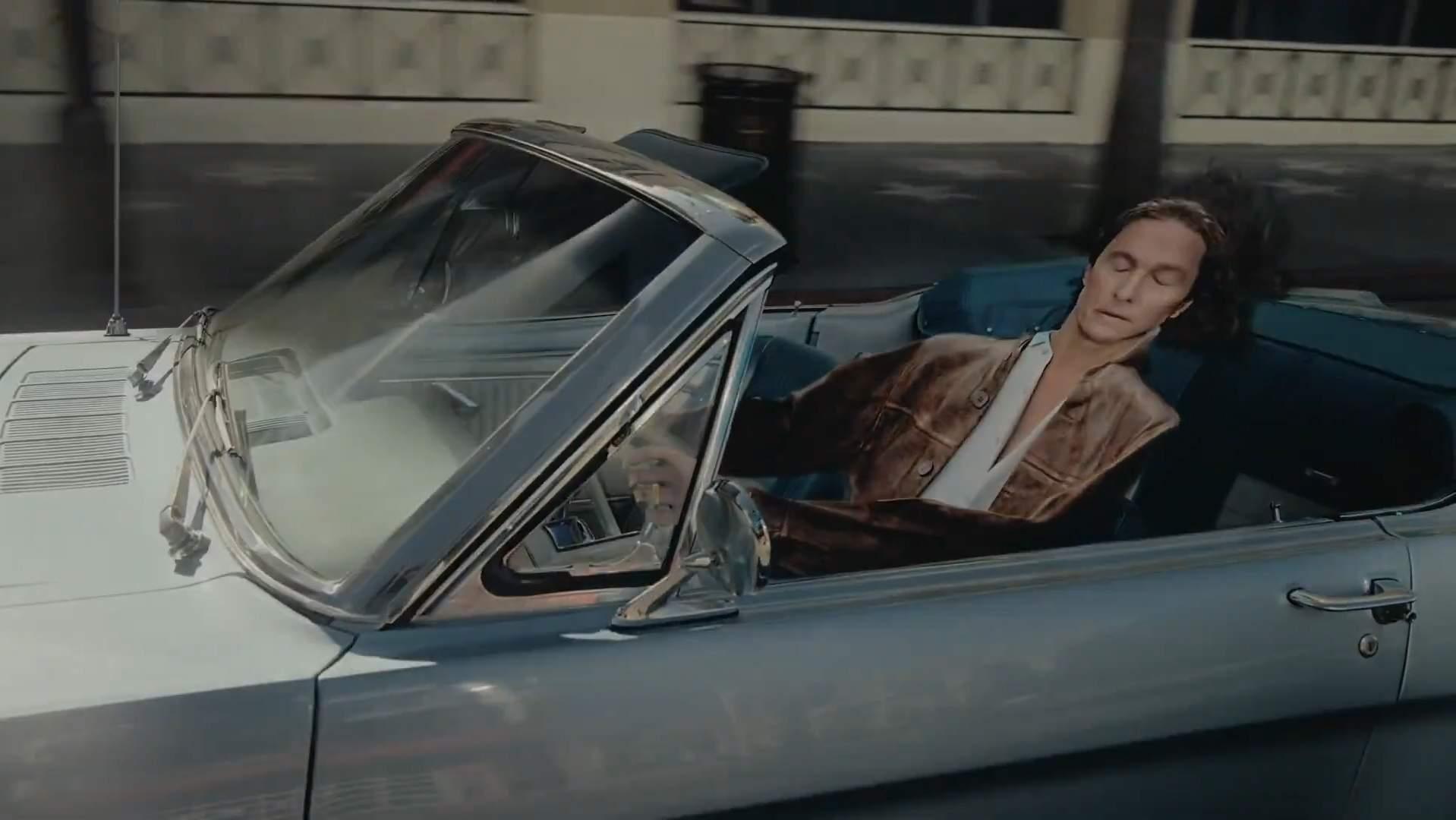 Matthew McConaughey en 2D gracias a Doritos 3D