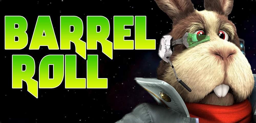 Peppy Hare y su famoso Do a Barrel Roll
