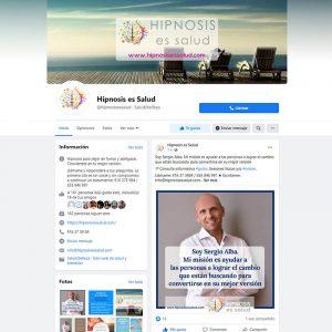 Gestión del perfil de Facebook de Hipnosis es Salud