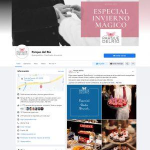 Gestión del perfil de Facebook de Parque del Río