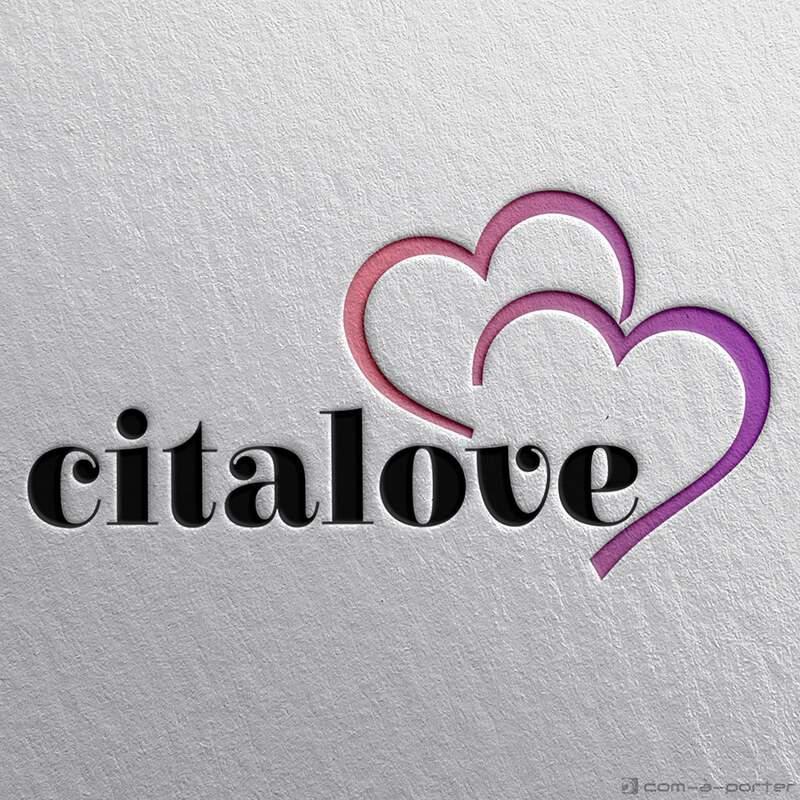 Logotipo para web de citas Citalove