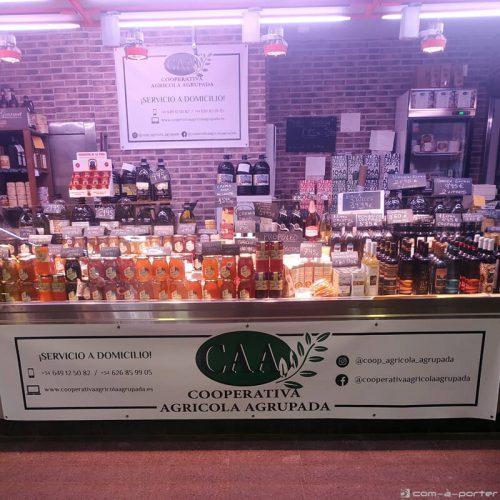 Lonas decorativas para tienda de Cooperativa Agrícola Agrupada en Madrid