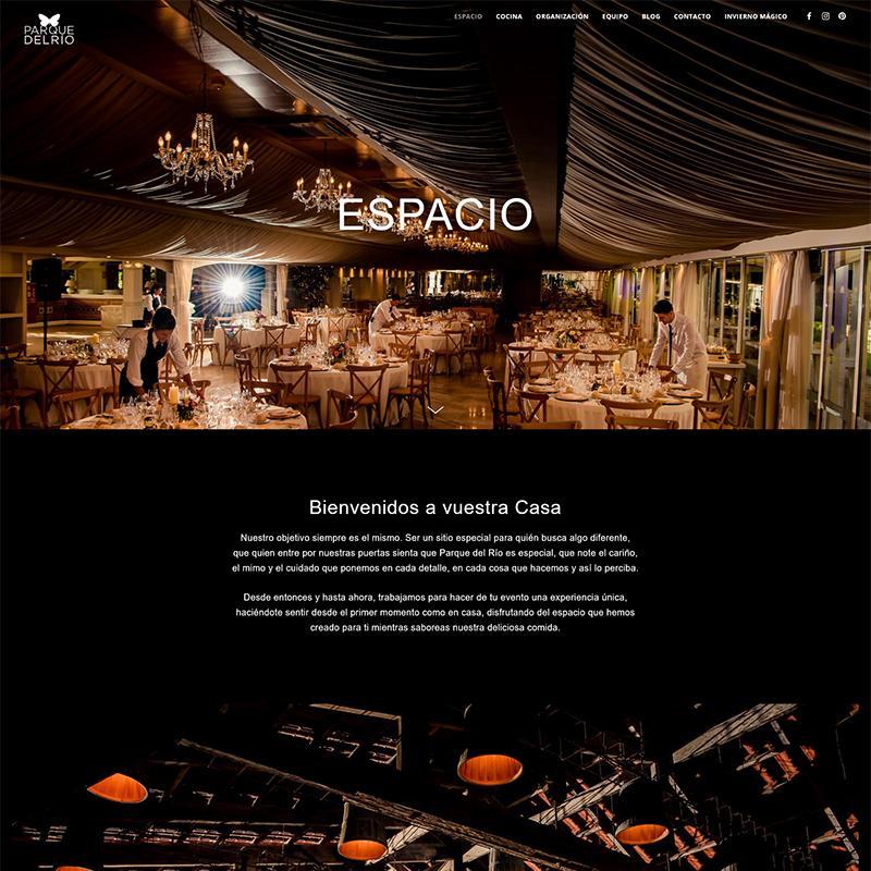 Puesta a punto de la página web de Parque del Río