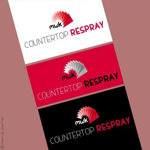 Logotipo de Countertop Respray, filial de My Wonder Kitchen
