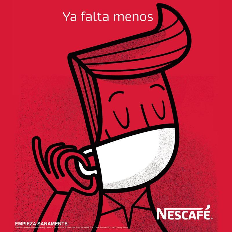 Ya falta menos, una campaña de Nescafé