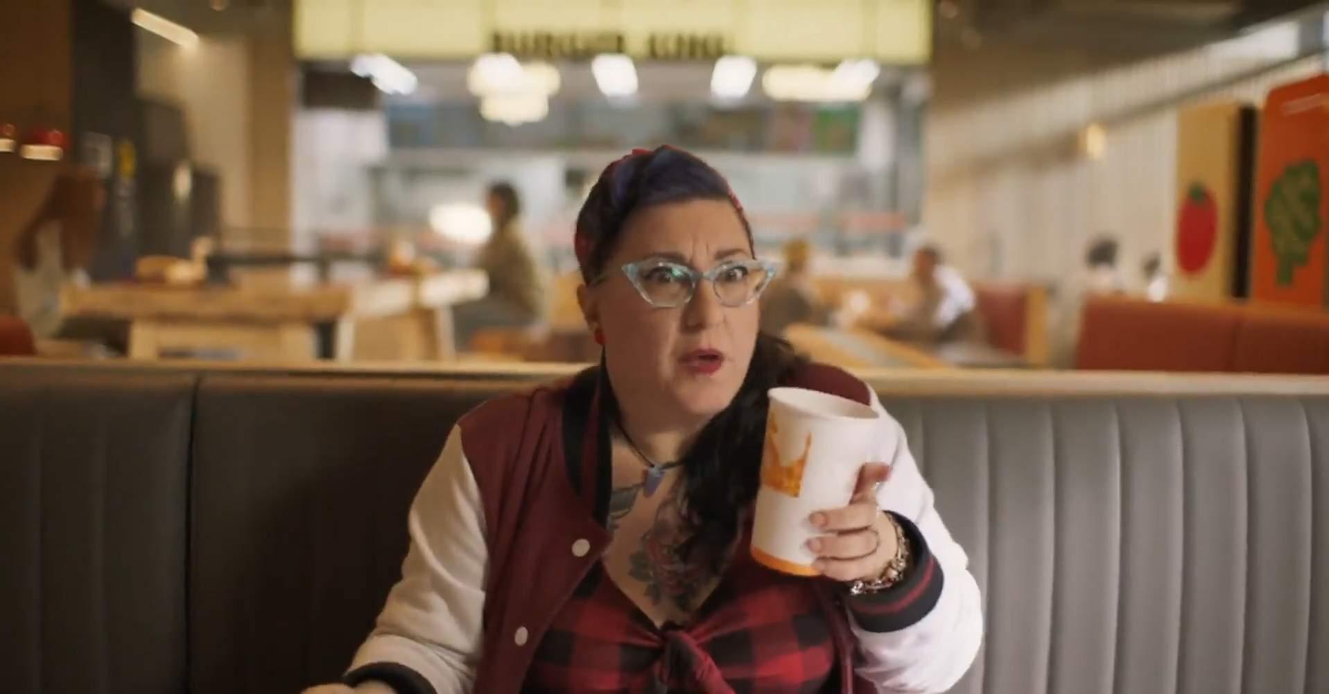 La hamburguesa más americana de Burger King