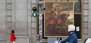 Las obras del Museo Nacional del Prado en la calle