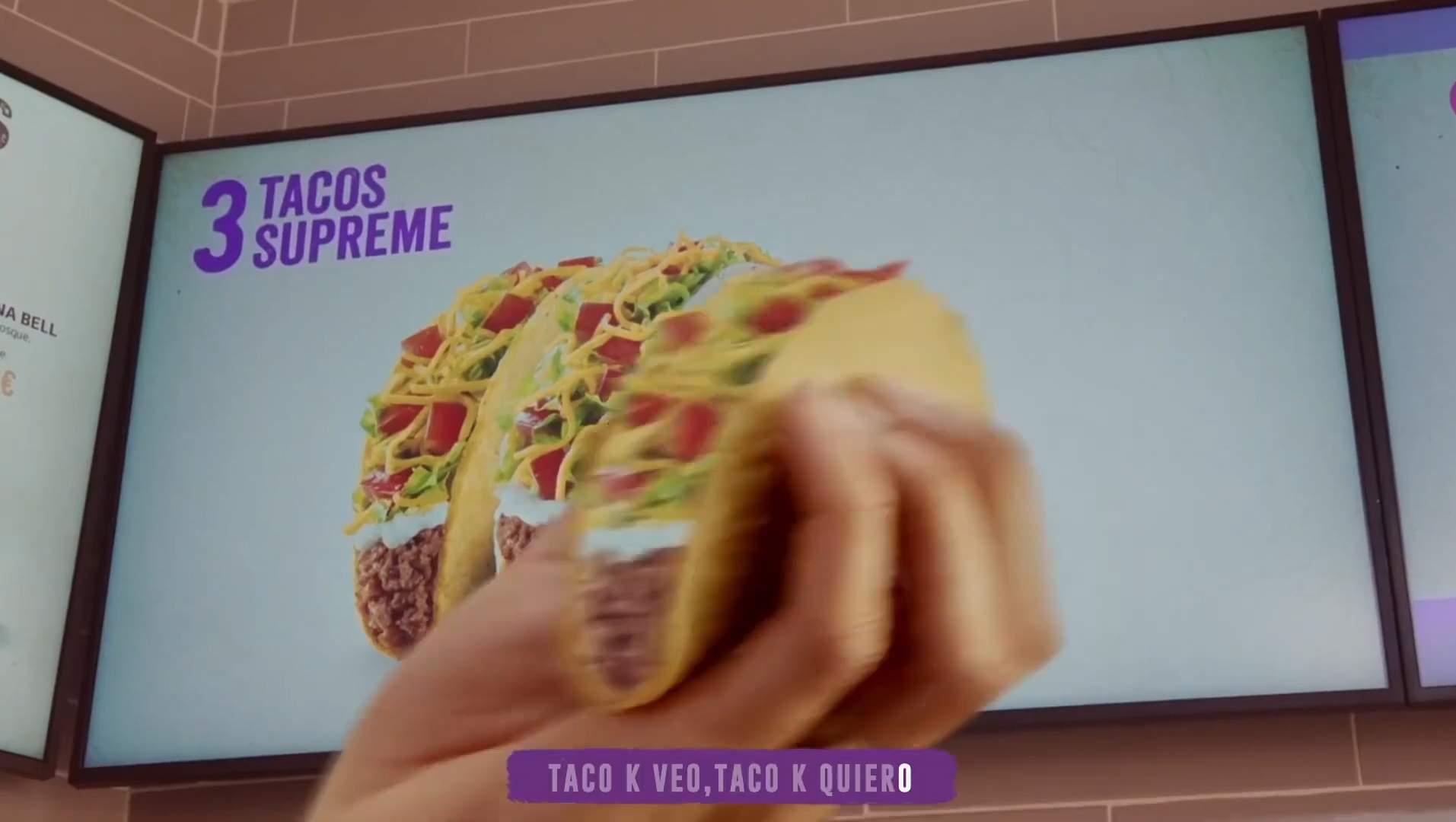 Estreno de Taco Bell en televisión con una campaña